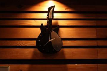 手作り時計:ギター