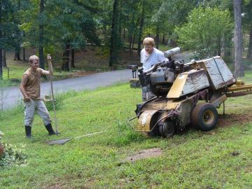 砂場やグランドの砂土を平らにする道具について -↑ …